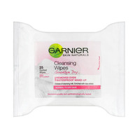 Garnier Skin Naturals Sensitive Cleansing Wipes 25 Wipes