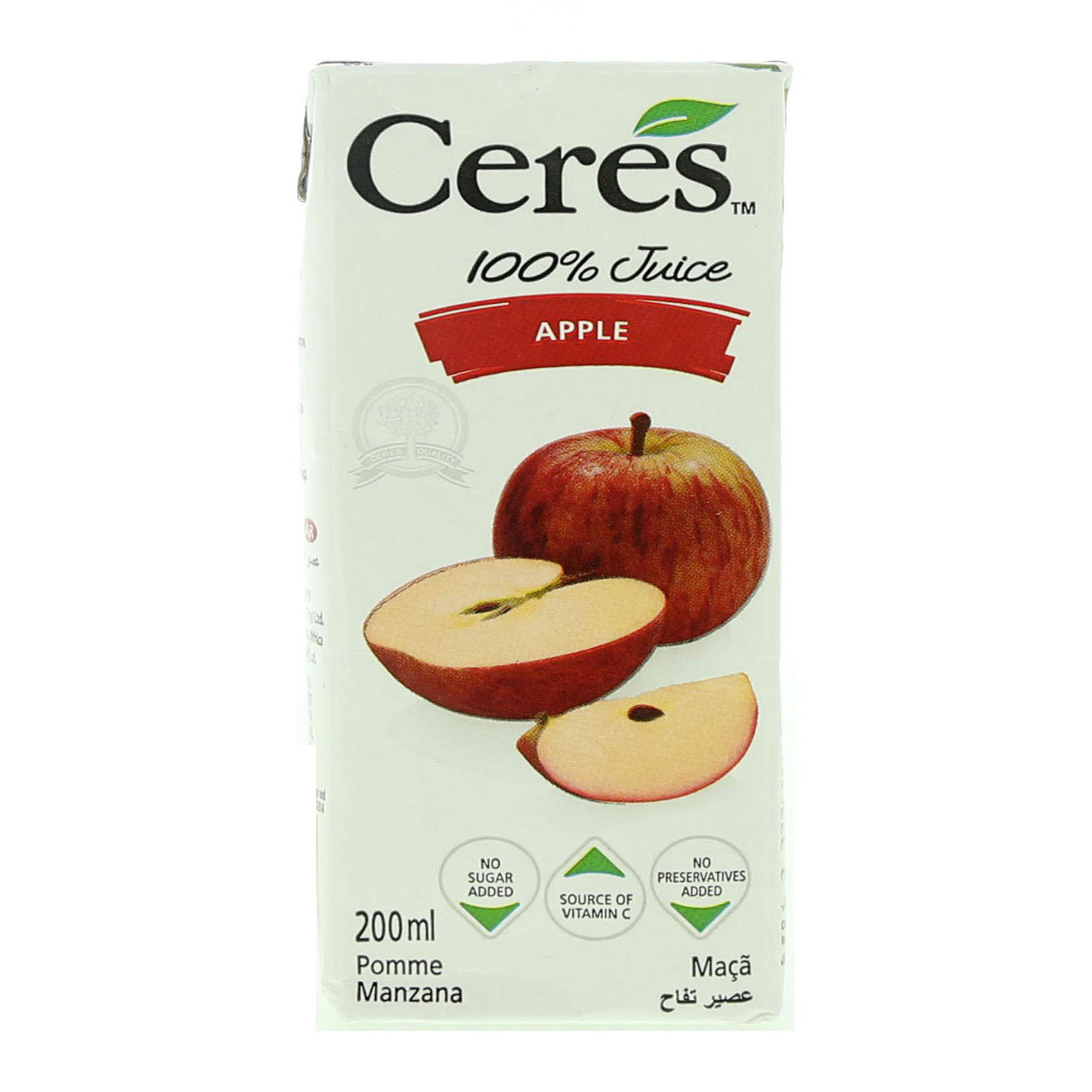 CERES JUICE APPLE 200ML