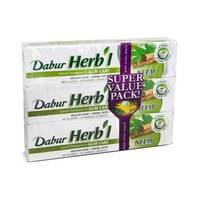 دابر هيربال معجون الأسنان بخلاصة المواد الطبيعية 150 جرام × 3