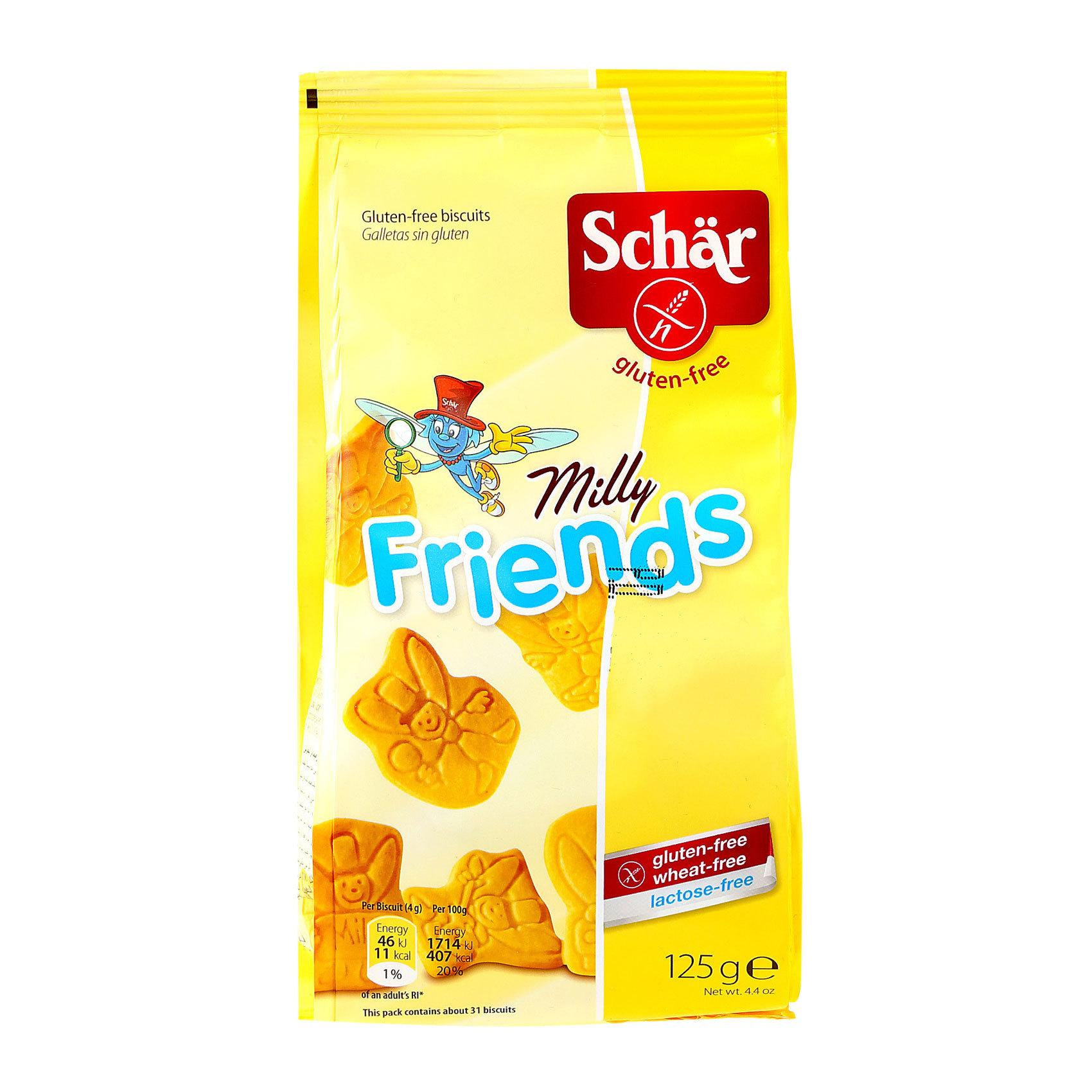 SCHAR GLUTEN F.FRIENDS BISC 125G