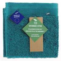 TEX Face Towel 30x30 Turquoise Dark
