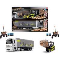 Dickie -RC Mercedes Benz Actros & Forklift Clark