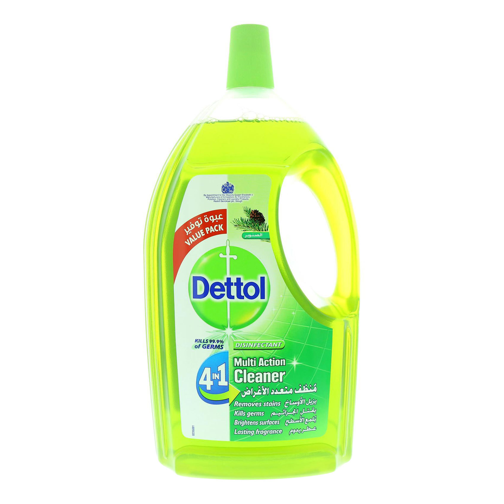 DETTOL MAC 4 IN 1 PINE 3L