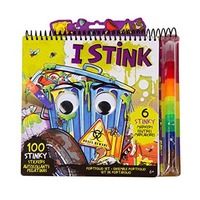 I Stink Portfolio NoteBook With Markers