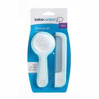 Bebeconfort Brush And Comb With Mirror Sailor Blue