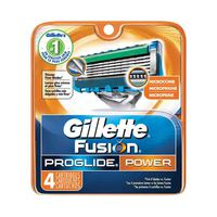 Gillette Fusion ProGlide Power Blades Refill Pack Of 4