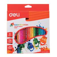 Deli  Wooden  Colored Pencil 36 Clr