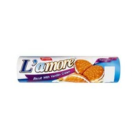 Amore Sandwich Biscuit With Vanilla 150GR
