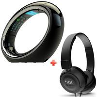 AEG Cordless Phone Eclipse 15 Black + JBL Headset T450