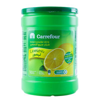 Carrefour Instant Powder Drink Lemon 750 Gram