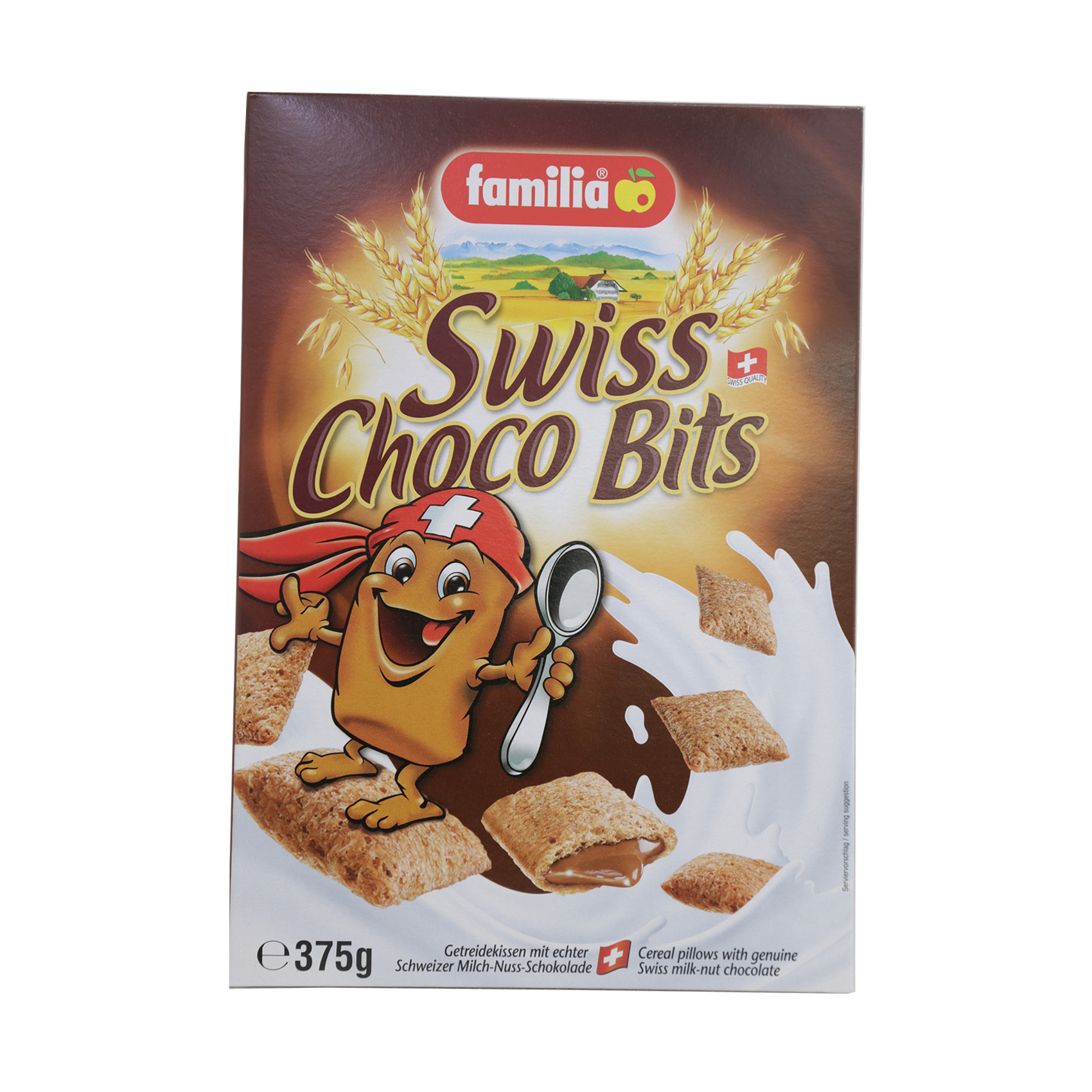 FAMILIA CEREAL CHOCO BITS 375GR