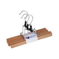 Housecare Wood Trouser Hanger 3 Pieces