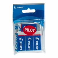 Pilot EE-101-4P Plastic Eraser 4Pcs