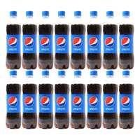 بيبسي شراب غازي بلاستك 250 مل 16 حبة