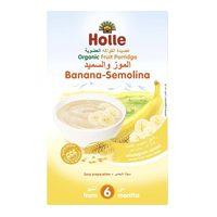 Holle Organic Fruit Porridge Banana Semolina 250g