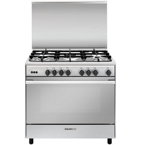 Glemgas-90X60-Cm-Gas-Cooker-1126UN9612GI/FSG