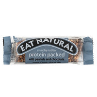 Eat Natural Crunchy Nut Bar Protein packed With Peanuts And Chocolate 45g
