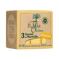 Le Petit Olivier Glycerin Soap 100GR X3