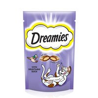 Dreamies™ Duck Cat Treats Pouch 60g