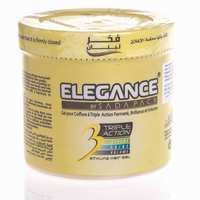 Elegance Gel Hair Styling Yellow 500 Ml