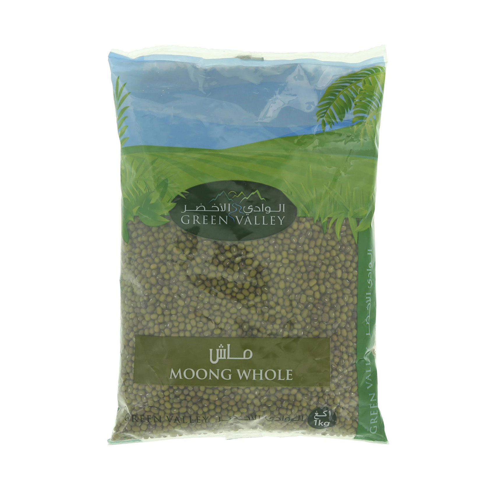 GREEN VALLEY MOONG WHOLE 1KG