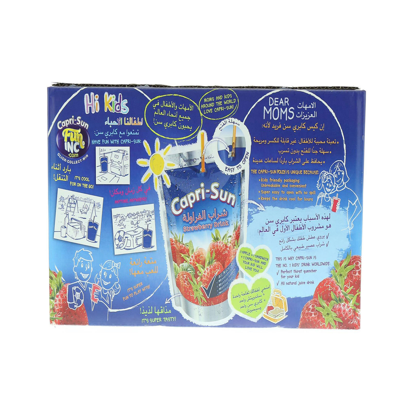 CAPRI-SUN STRAWBERRY 200MLX10