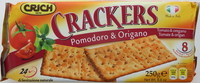 Crich Crackers Tomato & Oregano 250g