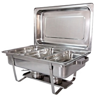 Master Chef Chaffing Dish 3X3L S/St