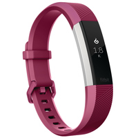 Fitbit Wearable Alta Heart Rate Large Fuchsia