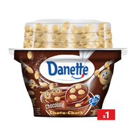 Danette Chocolate Way More Biscuits 134g