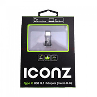 Iconz USB Adapter From Micro B To C