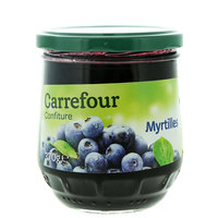 Carrefour Jam Blueberry 370 Gram