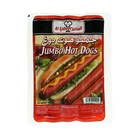 Al-Kabeer-Jumbo-Hot-Dog-400g
