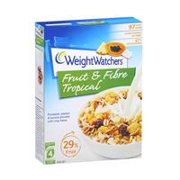 Weight Watchers Fruit & Fibre Tropical Flakes 450 g
