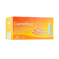 Carrefour Ladies Tampons Digital Normal 32 Napkins