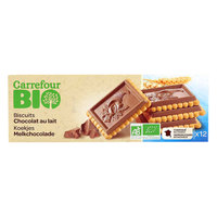 Carrefour Bio Organic Milk Chocolate Biscuit 150g