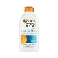Garnier Ambre Solaire Sun Cream Light And Silky High SPF 30 200ML + Garnier Ultra Doux Shampooing 90ML