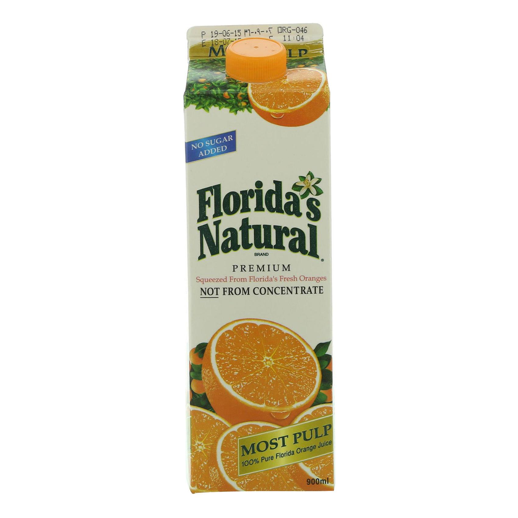 FLORIDA JUICE ORANGE 0.9L