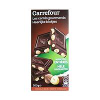 Carrefour Dark Chocolate With Hazelnut 200GR