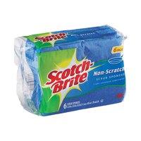 Scotch Brite Sponge No Scratch Scrub X6