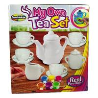 Chamdol Paint My Own Tea Set