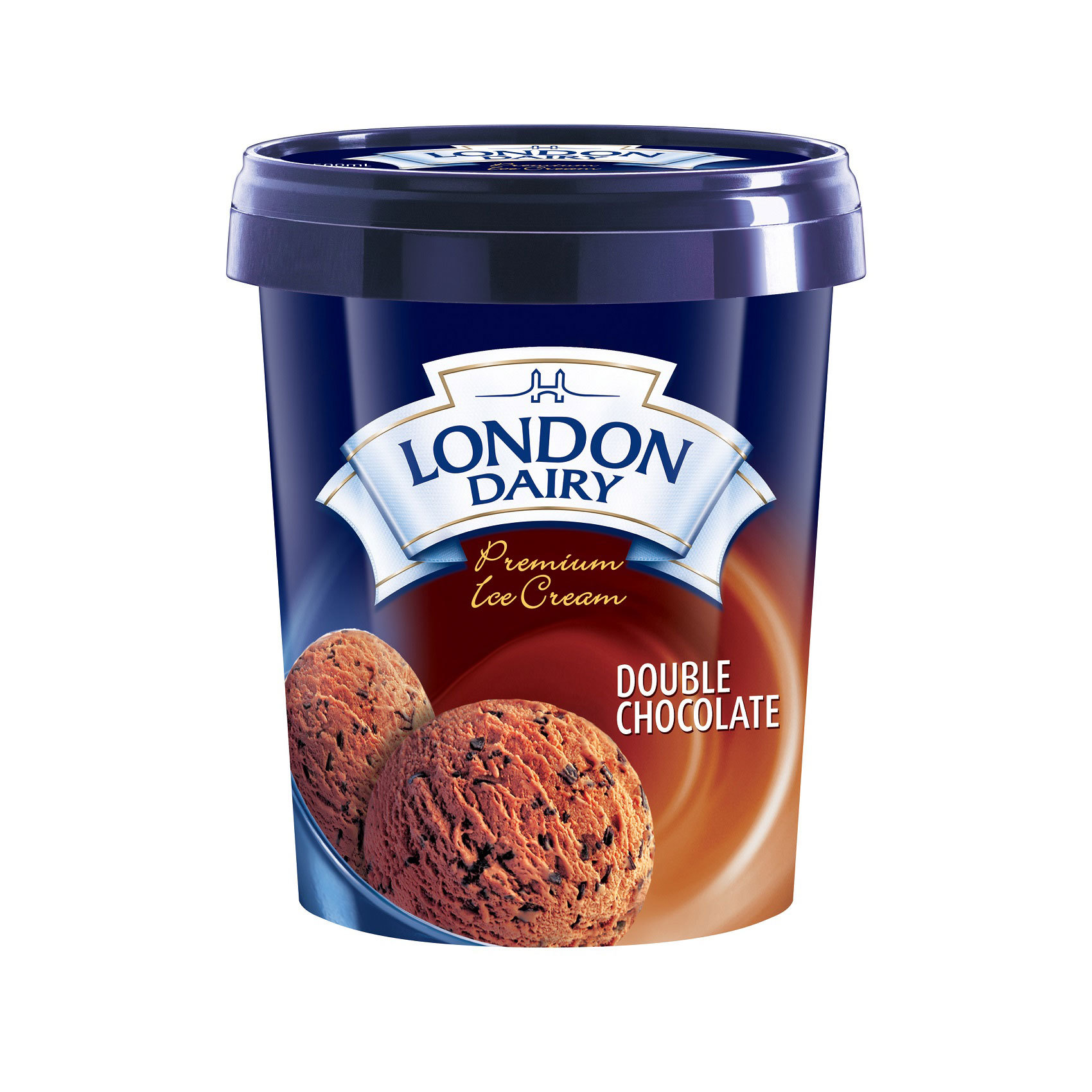LONDON DAIRY CHOCOLATE DOUBLE 0.5L
