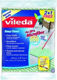 Vileda Easy Clean Floor Cloth 2 + 1 Free