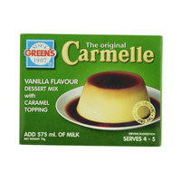 Green's Vanilla Flavour Dessert Mix with Caramel Topping 70g