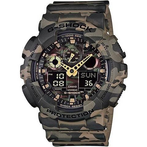 Casio-G-Shock-Men's-Analog/Digital-Watch-GA-100CM-5A
