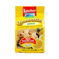 Loacker Wafer Quadratini Lemon 125GR