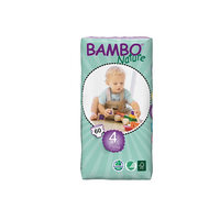Bambo Baby Diapers Maxi 7-18 Kg 60 Diapers