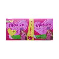 Private Missteen Xtra Thin Pads 20 Pieces
