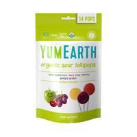 Yumearth organic lollipops 510 g x 14