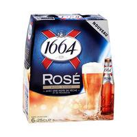 1664 Rose Beer 25CL X6